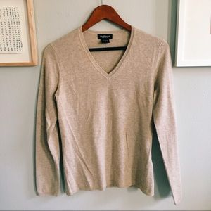 Cream Cashmere Sweater